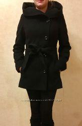 Кашемировое пальто с капюшоном, идеальное состояние