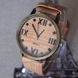 Креативные деревянные часы