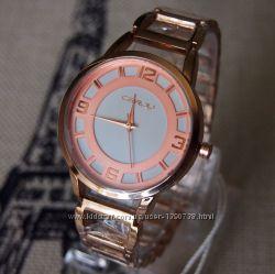 Часы CRRJU pink gold