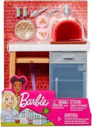 Набор мебели Барби Barbie и питомец Барби Печь для пиццы