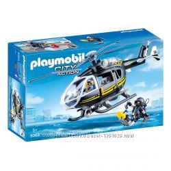 Playmobil 9363 Вертолет спецназа фигурки полиция конструктор Плеймобил