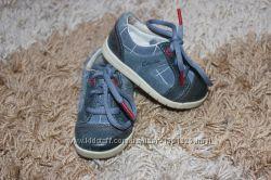 Кожаные туфли для мальчика Clarks