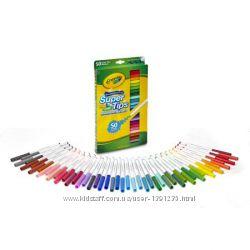 Фломастеры Crayola смывающиеся 50 шт.