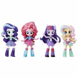 Набор из 4-х кукол My Little Pony Equestria Girls Девочки Эквестрии