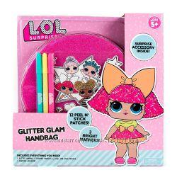 Блестящая сумочка L. O. L. ЛОЛ LOL Сюрприз Glitter Glam Bag