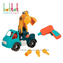Игрушка-Конструктор Разборный Грузовик Battat Take-Apart Crane Truck