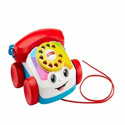 Игрушка каталка Веселый телефон Fisher-Price Chatter Telephone