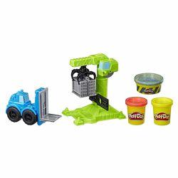 Игровой набор Play-Doh кран-погрузчик Wheels Crane & Forklif