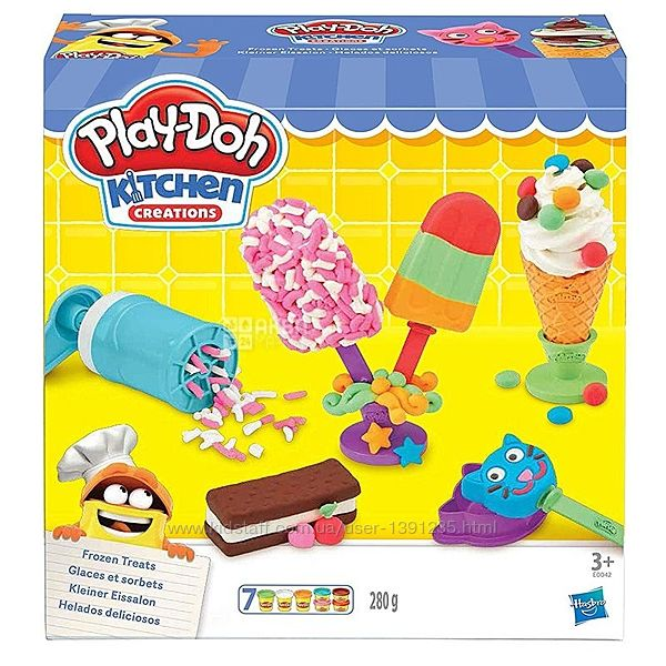 Игровой набор Hasbro Play-Doh Создай любимое мороженое E0042