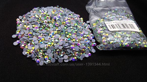 Стразы Crystal AB, ss20 горячей фиксации, 1440 шт.