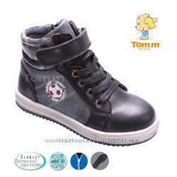 Ботинки ТОмМ 1593В черные sport fashion