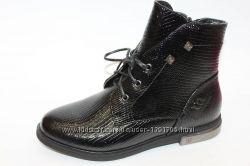 BIKI ботинки высокие питон 0501C черные