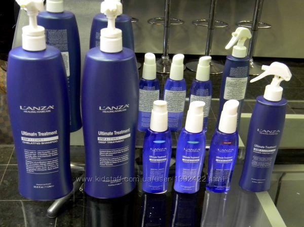 Распив Lanza Ultimate  Treatment- Кератиновое Протезирование волос