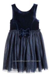 Нарядное платье НМ для девочки, размер 4-5 л