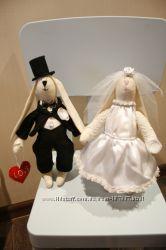 Пара свадебных зайчиков-лучший подарок