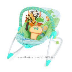 РАСПРОДАЖА Кресло-качалка Bright Starts Сны в саванне, в наличии