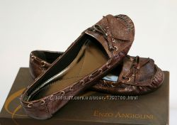 Кожаные мокасины Энцо Ангиолини, 37 размер