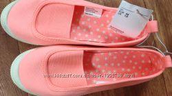 Текстильные тапочки НМ, 34 размер