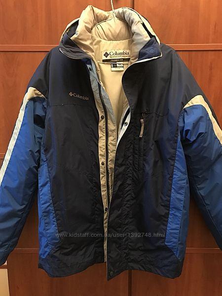 Куртка лыжная муж. подрост. фирмы Columbia2 в1