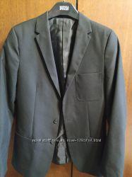 Черный пиджак на подростка
