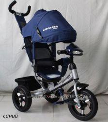 Кросер Ван фара надувні колеса дитячий триколісний велосипед Crosser