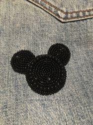Брошь брошка ручної роботи Mickey Міккі
