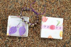Набор украшений серьги / сережки и браслет или подвеска