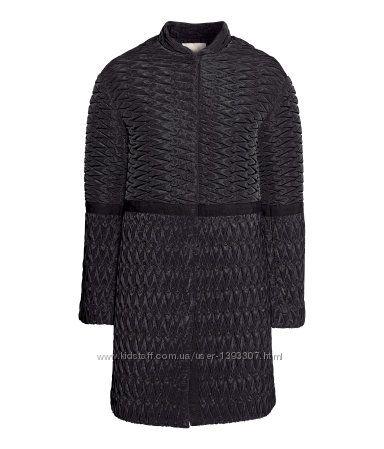 Стильное стеганное пальто НМ