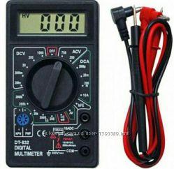 Мультиметр DT-832 . Тестер. Звуковая индикация.  Прозвонка