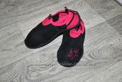 Чешки HOTUNA мокасины для танцев черные розовые спортивные балетки