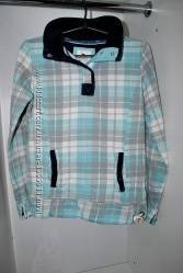 Продам толстовку TU для беременной голубая модная теплая удобная