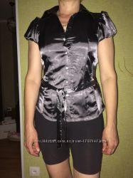 Крутая женская блузка с поясом k&d скидка