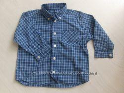 Рубашка рубашечка MARKS&SPENCER на мальчика