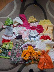 Пакет одежды на девочку 62-68см