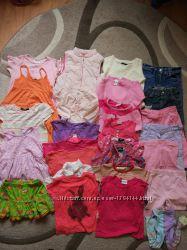 Пакет одежды на девочку 2-3лет