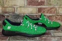 Женские легкие летние кроссовки Adidas Yeezy Boost Адидас изи буст