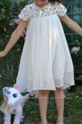 Сказочное брендовое платье с пайетками, для маленькой Принцессы, от Некст