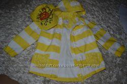 Красивейшая ярко-желтая курточка от Некст для девочки