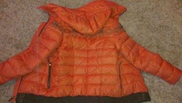 Бомбер пуховик куртка вышиванка