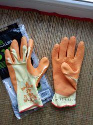 Перчатки рабочие с каучуковым покрытием