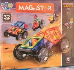 Детский магнитный конструктор LT3001 Машинки, 32 детали