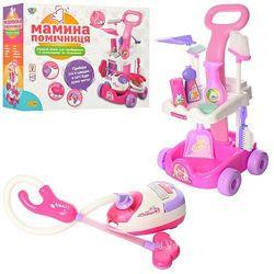 Игровой набор для уборки Мамина Помічниця Bambi A5938, игрушечный пылесос