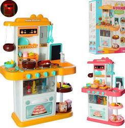 Детская игровая кухня Spraying Kitchen 889-151-152, течет вода, пар, доска