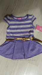 Новое платье Глория Джинс для девочки 6-12мес, 74-80см. GeeJay Baby
