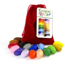 Восковые мелки для рисования Crayon Rocks 64 штуки