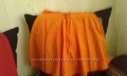 Юбка Оранжевого цвета