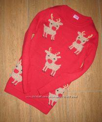 Новогодний свитер F&F