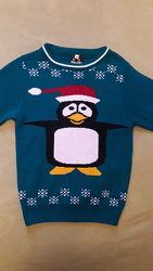 Шикарный свитерок унисекс на 7-8 лет. В идеале.