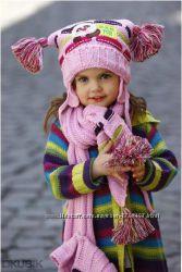 Комплект  шапка и шарф RASTER 46-48