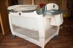 Супер мобильный манеж-кроватка Graco Electro Deluxe